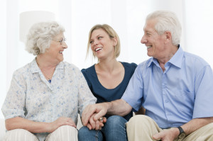 Offering support for caregivers
